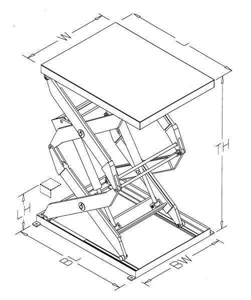 Scissor-Lift-Mechanism