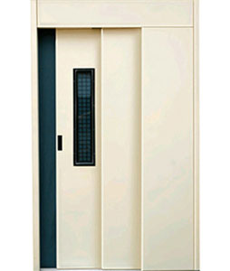 Automatic-elevator-manual-telescopic-door-elevator