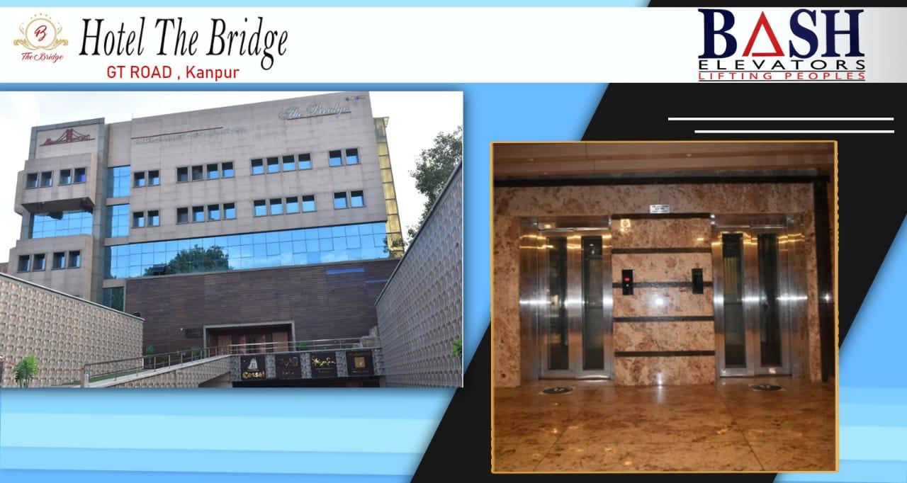 Elevator service provider company in hotel bride kanpur, India